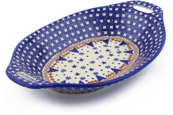 4 cup Serving Tray - D100 | Polish Pottery House