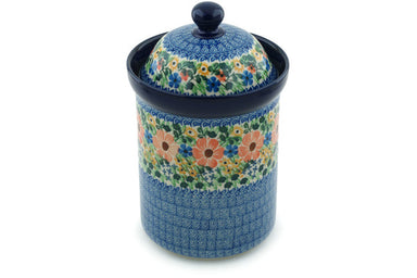 6 cup Canister - U1745 | Polish Pottery House