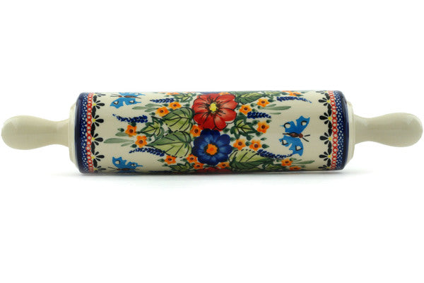 "13"" Rolling Pin - Butterfly Garden 