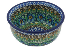 11 oz Dessert Bowl - Moonlight Blossom | Polish Pottery House