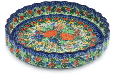 "9"" Fluted Pie Plate - U3735 