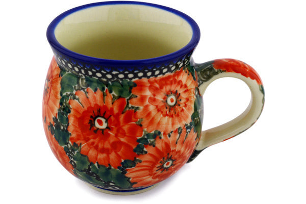12 oz Bubble Mug - U3428 | Polish Pottery House