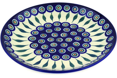 "11"" Dinner Plate - Blue Peacock 