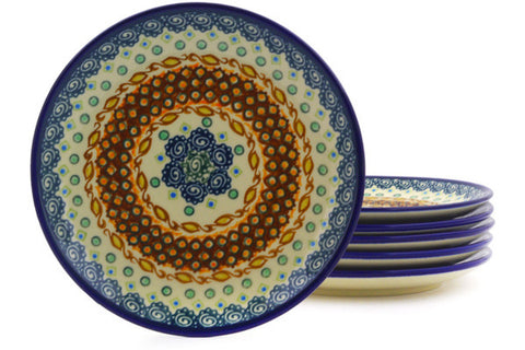 "8"" Set of 6 Salad Plates - Nantucket 