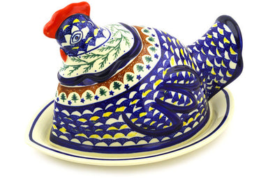 "14"" Hen - Evergreen 