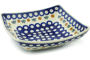 4 cup Square Bowl - Old Poland | Polish Pottery House