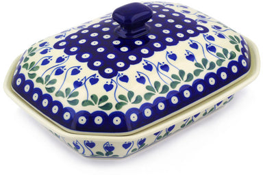 4 cup Covered Baker - 377O | Polish Pottery House