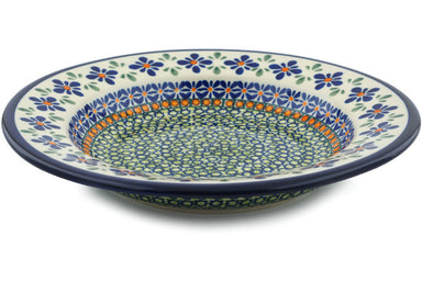 "9"" Pasta Bowl - Emerald Mosaic 