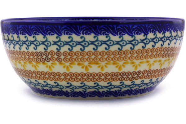 4 cup Serving Bowl - P9287A | Polish Pottery House