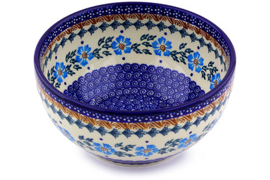 6 cup Serving Bowl - P9290A | Polish Pottery House