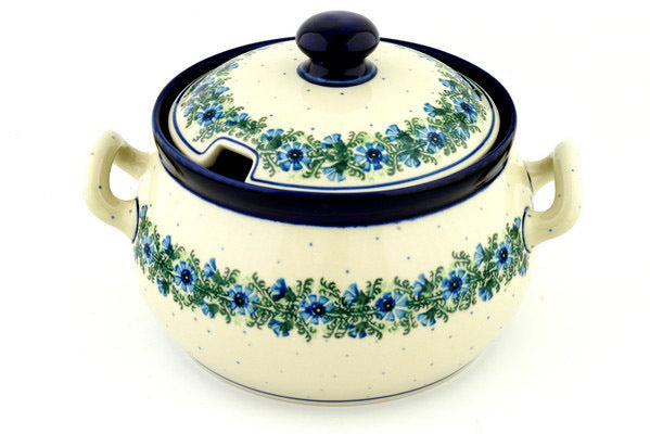 15 cup Soup Tureen - Cornflower | Polish Pottery House