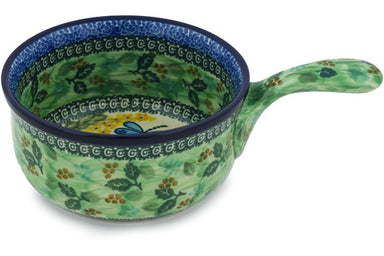 "6"" Round Baker with Handles - Whimsical 