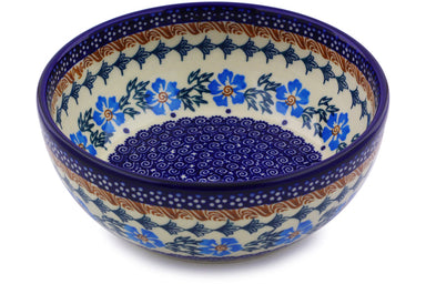 4 cup Serving Bowl - P9290A | Polish Pottery House