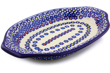 "12"" Platter with Handles - P9286A 