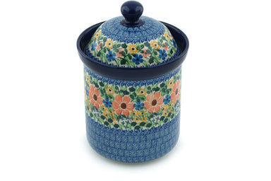 5 cup Canister - U1745 | Polish Pottery House