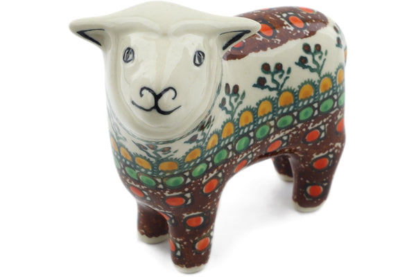 "5"" Sheep Figurine - Desert Sun 