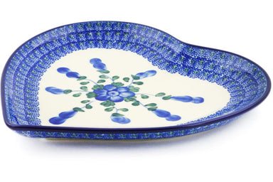 "9"" Heart Platter - Heritage 