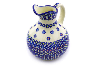 6 cup Pitcher - P9286A | Polish Pottery House