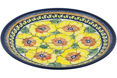 "8"" Salad Plate - Sunny Blooms 