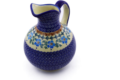 6 cup Pitcher - P9290A | Polish Pottery House