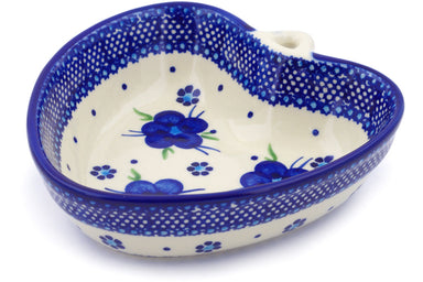 16 oz Heart Bowl - D1 | Polish Pottery House