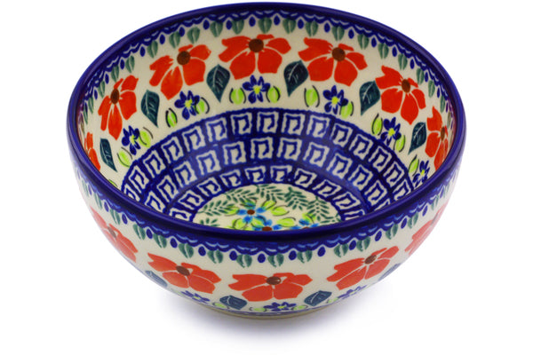 3 cup Cereal Bowl - Athens Prairie | Polish Pottery House