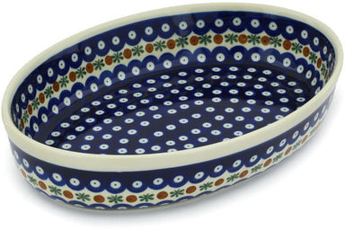 "12"" Oval Baker - Old Poland 