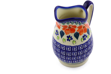 11 oz Creamer - Athens Prairie | Polish Pottery House