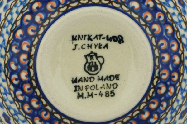 12 oz Dessert Bowl - Fiolek | Polish Pottery House