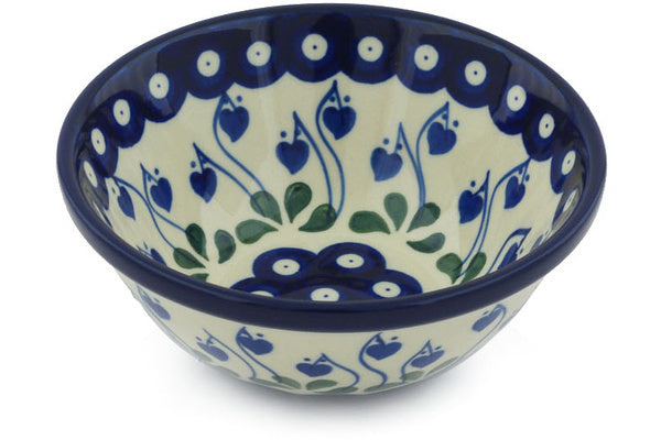 12 oz Dessert Bowl - Blue Bell | Polish Pottery House