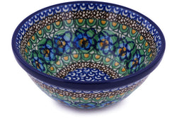 13 oz Dessert Bowl - Moonlight Blossom | Polish Pottery House