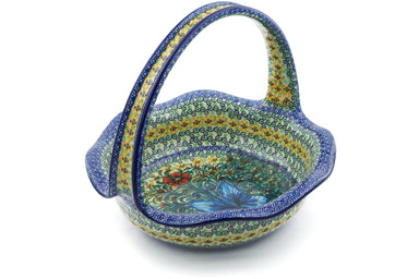 "10"" Basket with Handle - U1491 