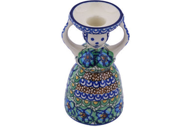 "6"" Candle Holder - Moonlight Blossom 