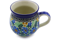 12 oz Bubble Mug - U1894 | Polish Pottery House