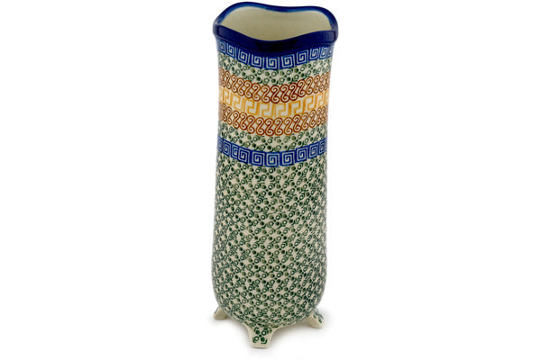 "11"" Vase - Blue Autumn 