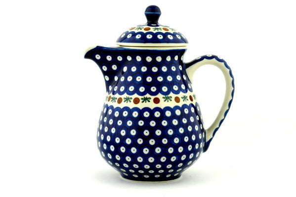 6 cup Pitcher with Lid - Old Poland | Polish Pottery House