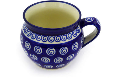 12 oz Bubble Mug - Swirl | Polish Pottery House