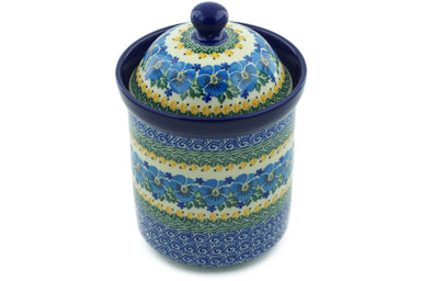 5 cup Canister - U1160 | Polish Pottery House