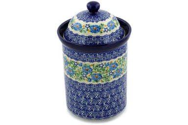 8 cup Canister - U1029 | Polish Pottery House
