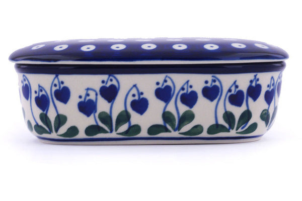 "2"" Oval Box - Blue Bell 