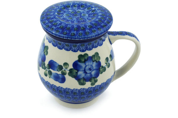 14 oz Brewing Mug - Heritage | Polish Pottery House