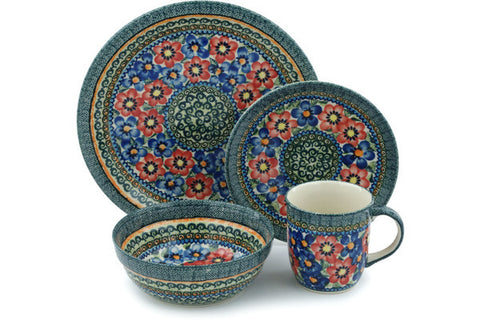 Place Setting - Cottage Garden | Polish Pottery House