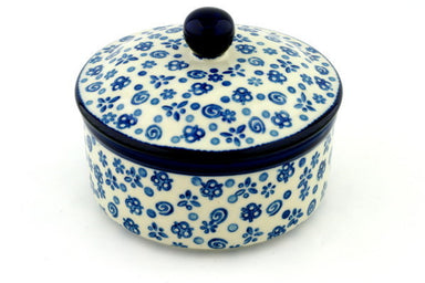 "4"" Round Box - Confetti 