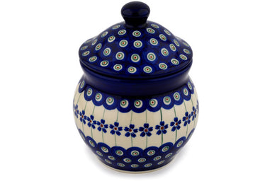 "6"" Canister - Floral Peacock 