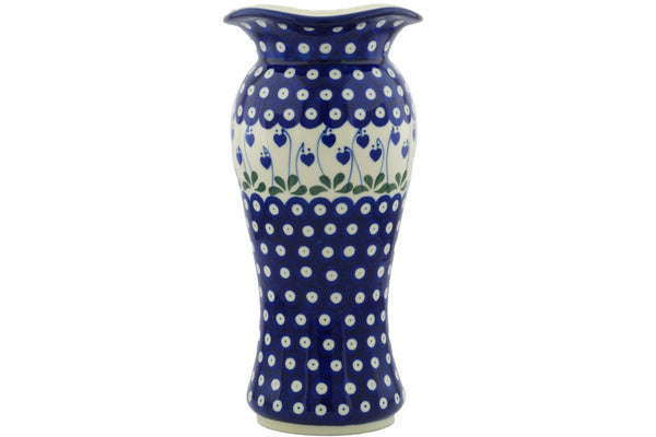 "11"" Vase - Blue Bell 
