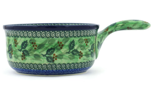 "6"" Round Baker with Handles - Spring Garden 