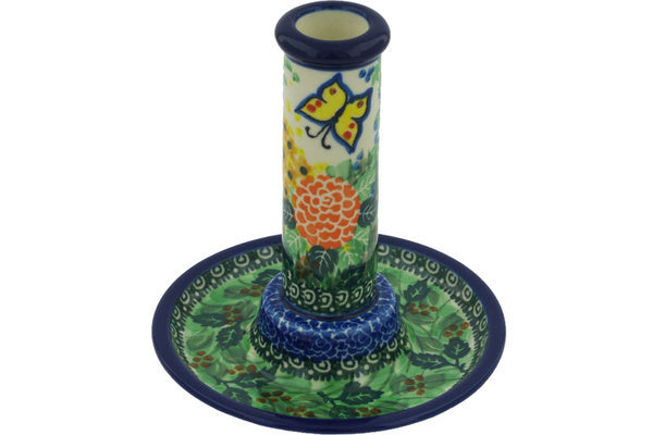 "6"" Candle Holder - Spring Garden 