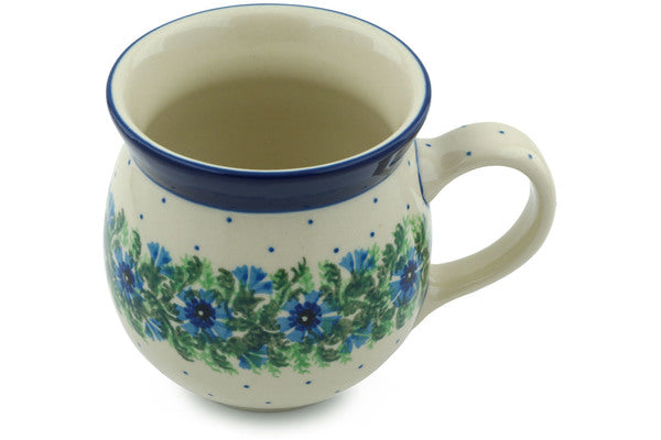 16 oz Bubble Mug - Cornflower | Polish Pottery House