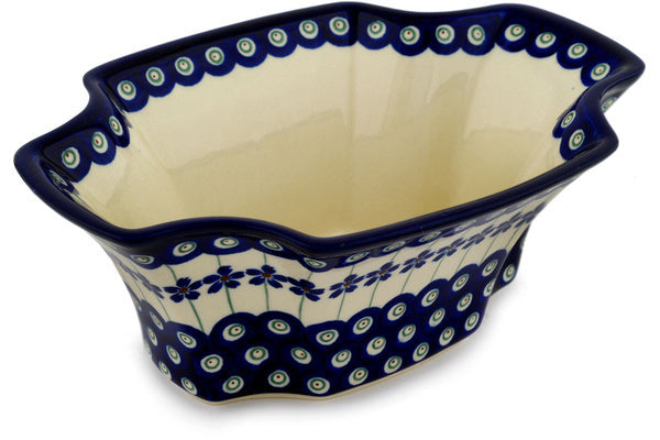 "6"" Cereal Bowl - Floral Peacock 