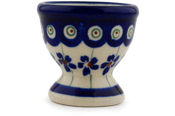 "2"" Egg Cup - Floral Peacock 